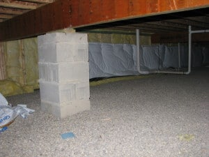 Walk Through Inspection - Crawl Space