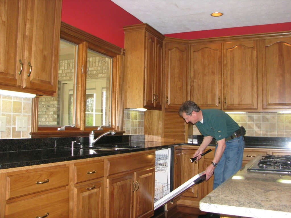Walk through Home Inspection with Buyers Inspection Service in Dayton, OH