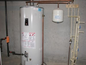 Walk Through Inspection - Water Heater