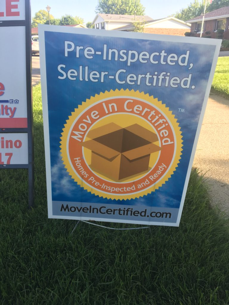 Pre-Inspected, Seller Certified. Move-In Certified