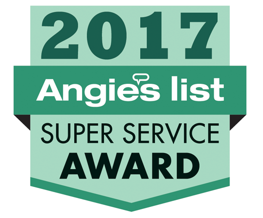 Angie's list Super Service Reward 2017