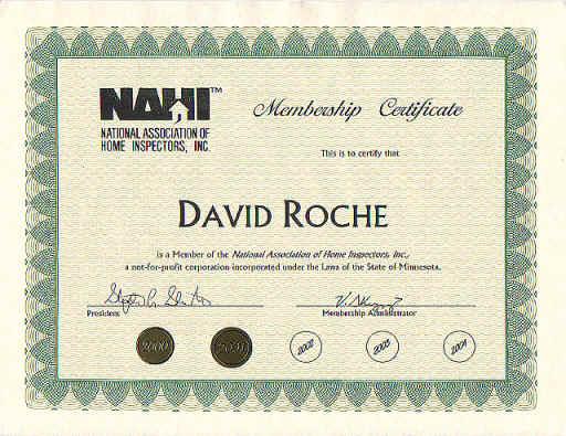 NAHI Certification